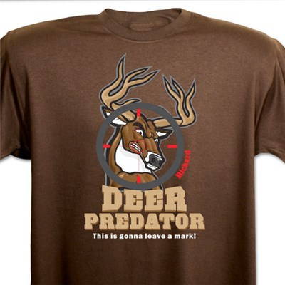 Personalized Deer Hunting Shirt