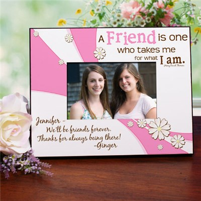 Personalized Friendship Printed Picture Frame