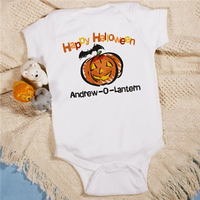 Personalized Happy Halloween Infant Creeper