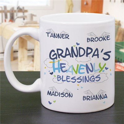 Personalized Grandpa Coffee Mug for Father's Day