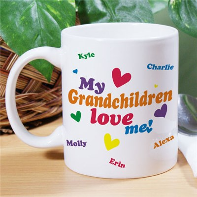 Personalized Grandparents Coffee Mug