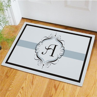 Personalized Monogram Welcome Mat