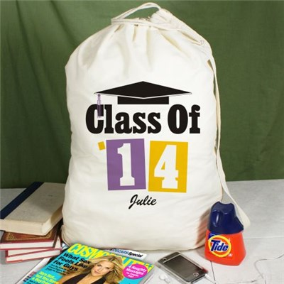 Personalized Class of 2014 Laundry Bags