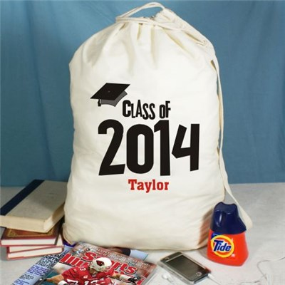 Personalized Graduate Laundry Bag Gift