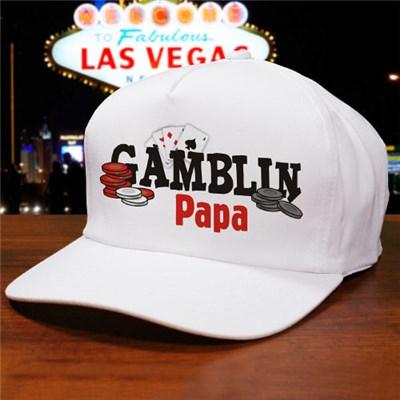 Personalized Gambling Papa Hat