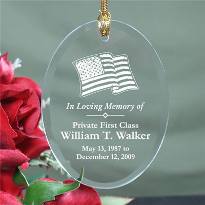 Personalized In Loving Memory Ornaments