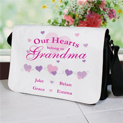 Personalized Our Hearts Purse