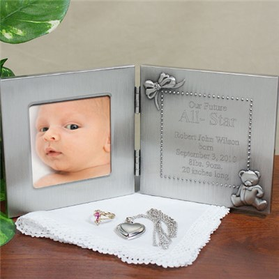 Personalized Silver Photo Frame