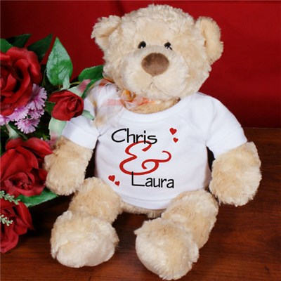 Custom Sweetest Day Teddy Bears
