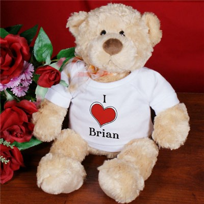 Personalized Teddy Bears for Sweetest Day