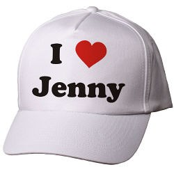 I Love You Personalized Valentines Hat