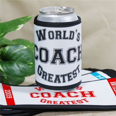 Personalized Worlds Greatest Coach Can Cooler