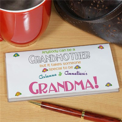 Anybody Can Be A Grandmother Checkbook Cover