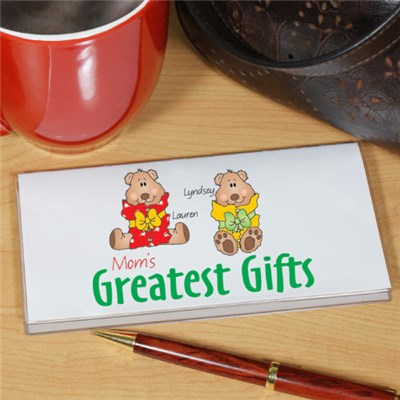 Greatest Gifts Checkbook Cover