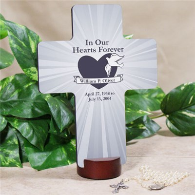 Personalized Memorial Wall Cross