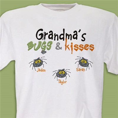 Personalized Grandma Halloween Shirts