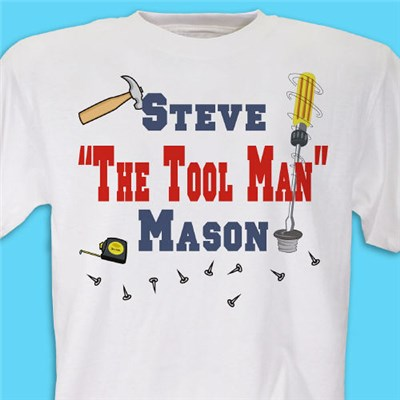 Personalized Fathers Day T-shirts