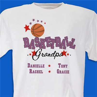 Personalized Basketball Family Shirts