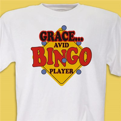 Personalized Bingo Shirt