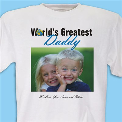 Custom Printed Worlds Greatest T-shirt