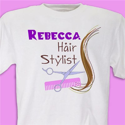 Personalized Hair Stylist Shirts