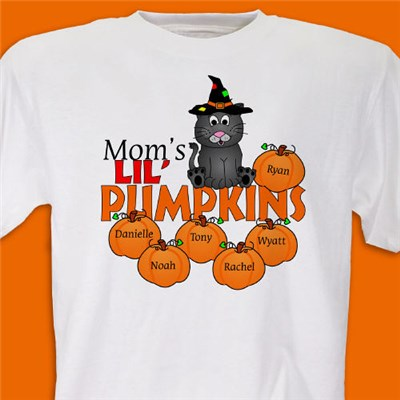 Personalized Pumpkin Tee Shirt