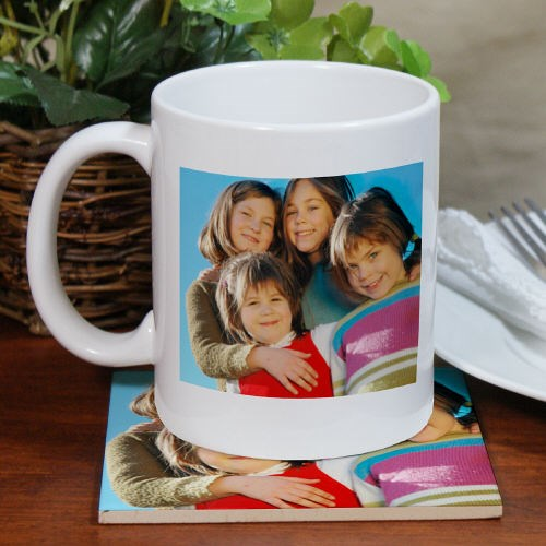 Photo Mug and Coaster Set