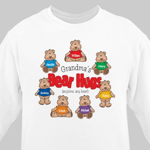 Bear Hugs Personalized Sweatshirt