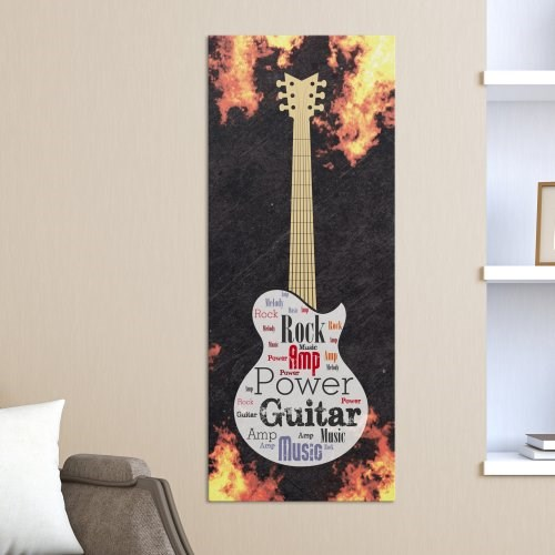 Electric Guitar Word-Art