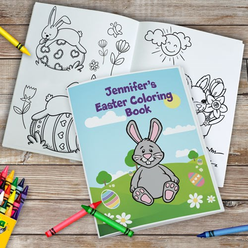 Personalized Easter Coloring Book 11011116