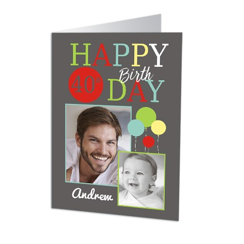 Birthday Photo Collage Card 11050111X