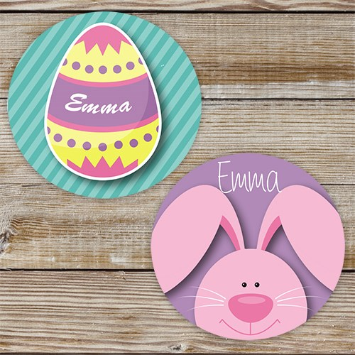 Personalized Easter Bunny Stickers 173991