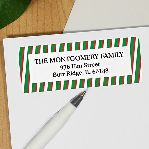 Generic Holiday Address Labels 198200