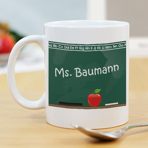 Chalkboard Teacher Coffee Mug