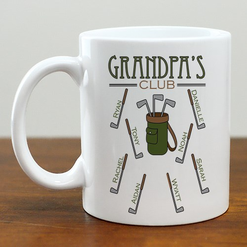 Personalized Golf Club Coffee Mug 249940