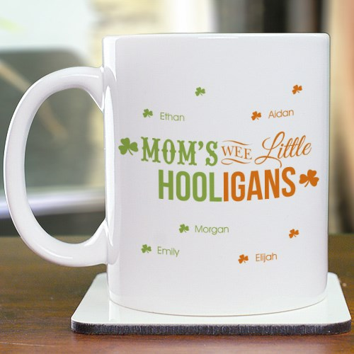 Personalized Wee Little Hooligans Mug 274130X