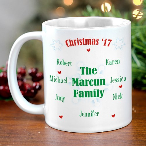 Christmas Family Reunion Coffee Mug