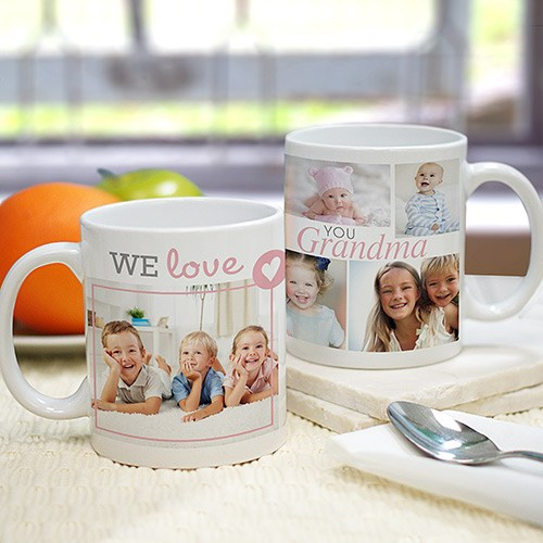 We Love Grandma Photo Mug 298950