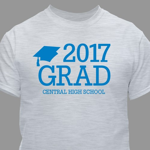 Personalized Grad T-Shirt 310228X