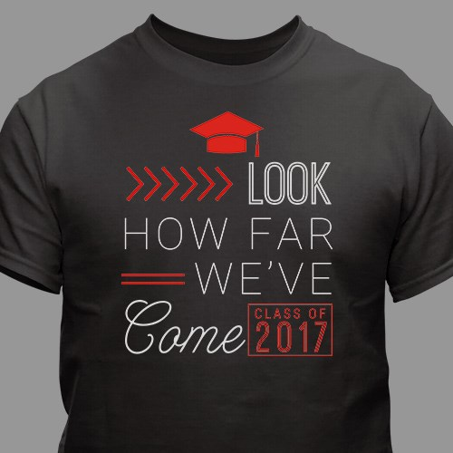 Personalized How Far We've Come T-Shirt 310230X