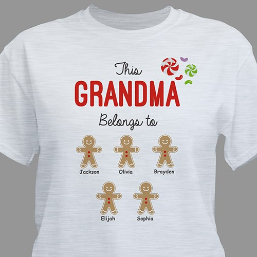 Personalized Holiday 2 T-Shirt 310538X