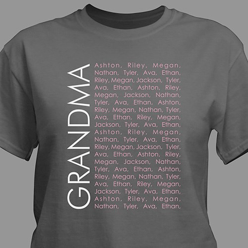 Personalized Repeating Name T-Shirt 310549X