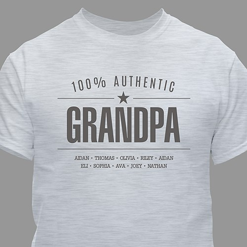 Personalized 100% Authentic T-Shirt for Him 310551X