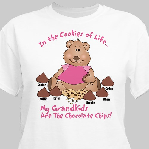 Cookies of Life Personalized T-Shirt