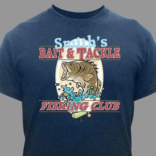 Fishing Club Personalized T-shirt 33210x
