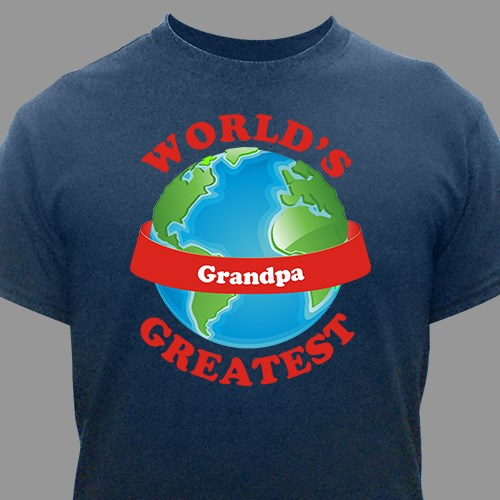 Personalized World's Greatest T-Shirt 33715X