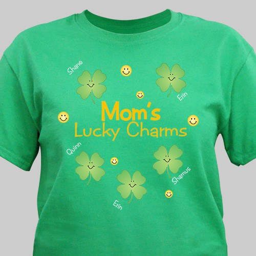 Personalized Lucky Charms T-Shirt 33843X