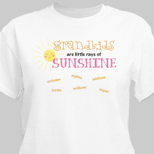 Personalized Little Rays of Sunshine T-Shirt 34967X