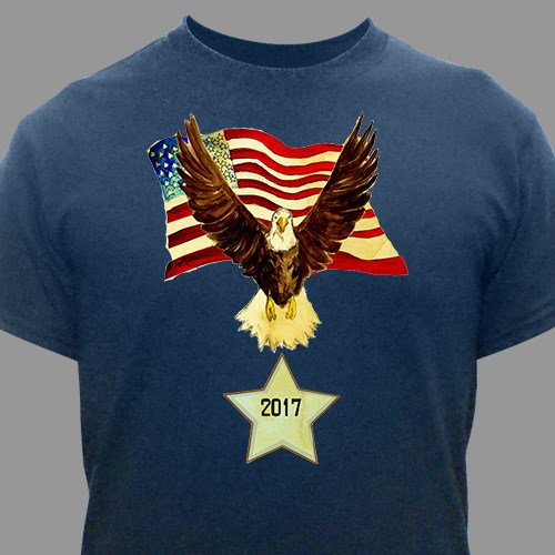 Personalized American Eagle T-Shirt 35958X
