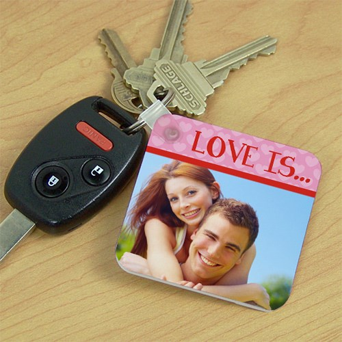 Love Is...Photo Key Chain 362590